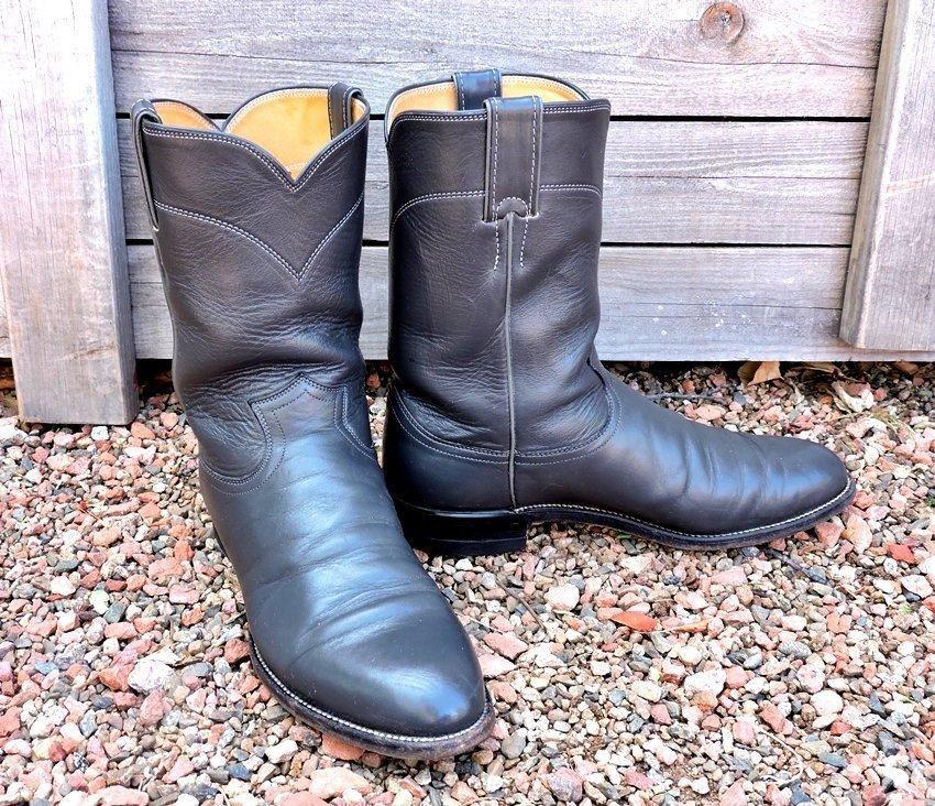 05412193617 Justin boots mens 9.5 D / Justin Ropers USA | cowboy boots | Boots ...