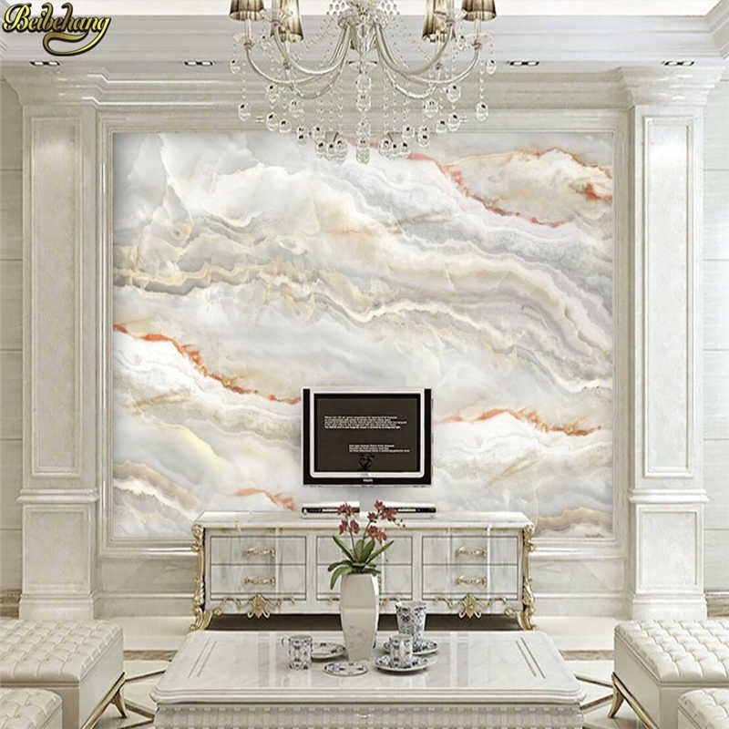 Beibehang European Simulation Marble Wallpapers For Walls 3 D Wall Paper Vintage Decorative Painting Backdrop Home Improvement Wallpapers Aliexpress Custom Photo Wallpaper Wallpaper Living Room Marble Wallpaper