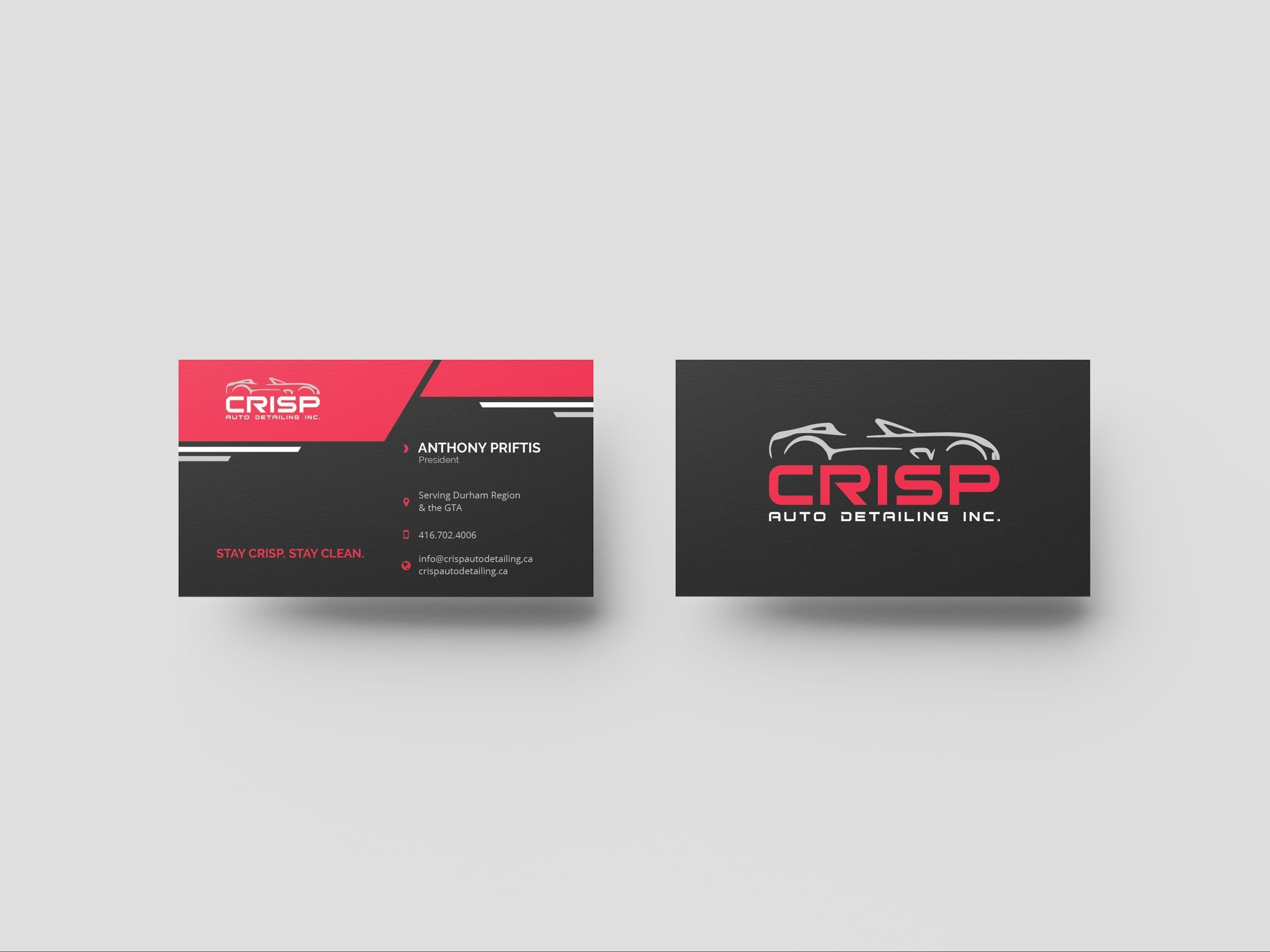 Auto Detailing Business Card Free Printable Free Business Cards Business Card Design Creative Business Card Template Design