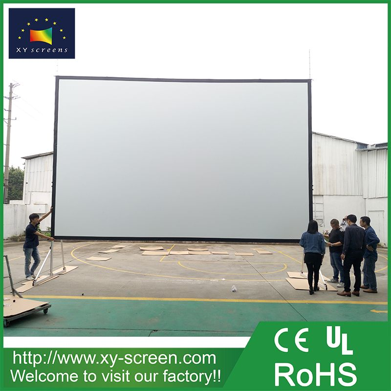 Xyscreen 300 Inch Outdoor Foldable Fast Fold Projector