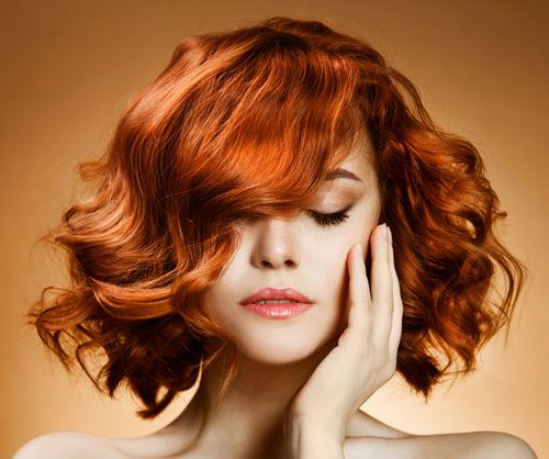 Wavy Red Hairstyles Curly Bob Hair Styles Which Hair Colour Square Face Hairstyles
