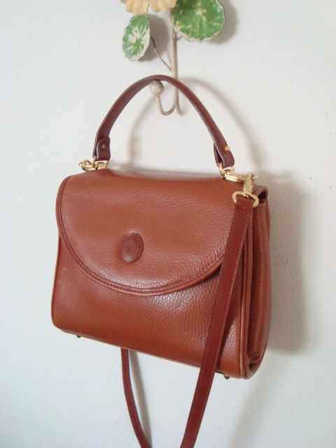 Mark Cross Handbags Gorgeous Vintage Leather Handbag By Wolfevintage
