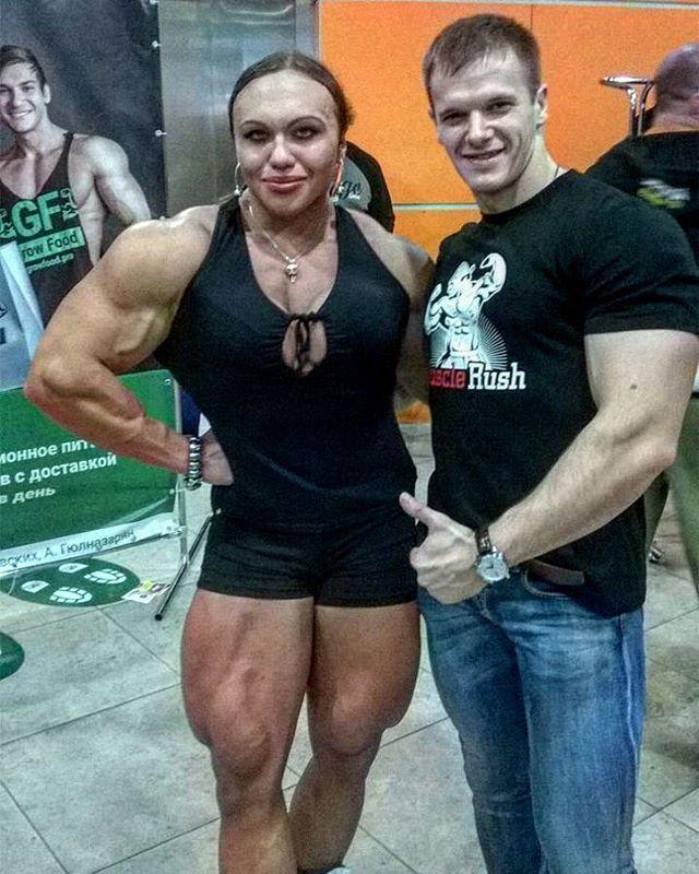 Natalia Trukhina. Muscle LegsFemale ...