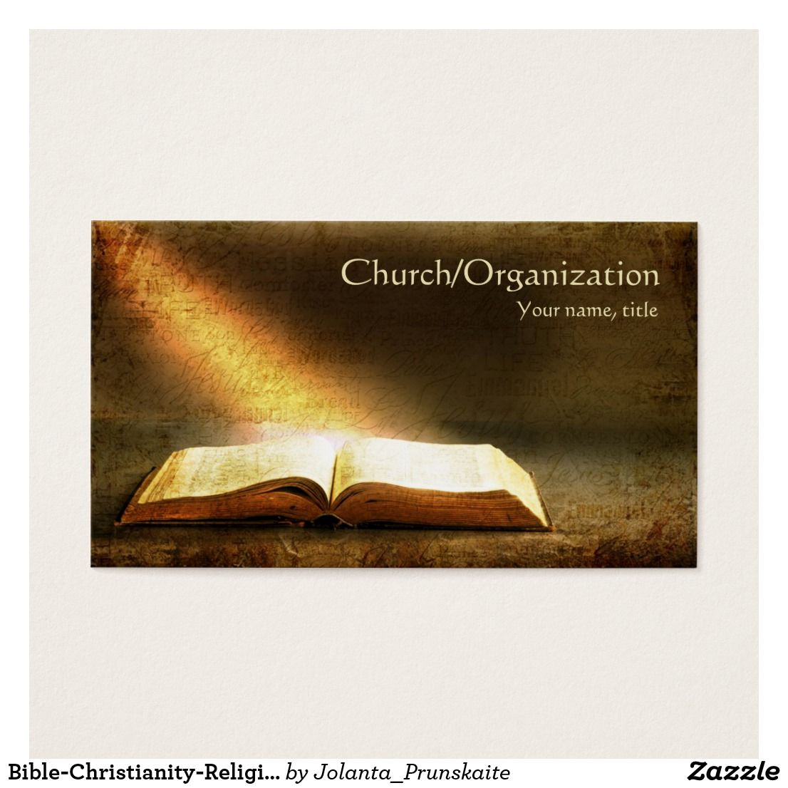 Bible-Christianity-Religious Business Card | Christianity