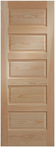 Details About Panel Clear Pine Craftsman Raised Panel Stain