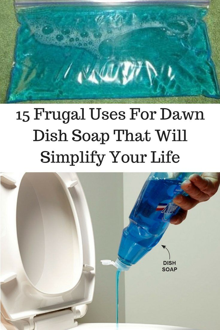 15 Frugal Uses For Dawn Dish Soap That Will Simplify Your Life ...