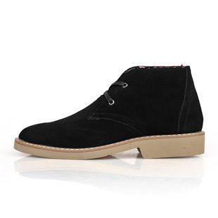 Men S Heritage Leather Chukka Black