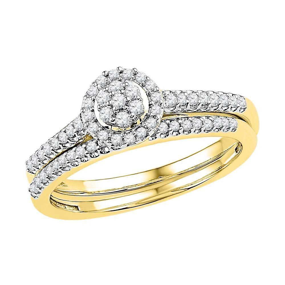 1-3CTW-Diamond BRIDAL SET