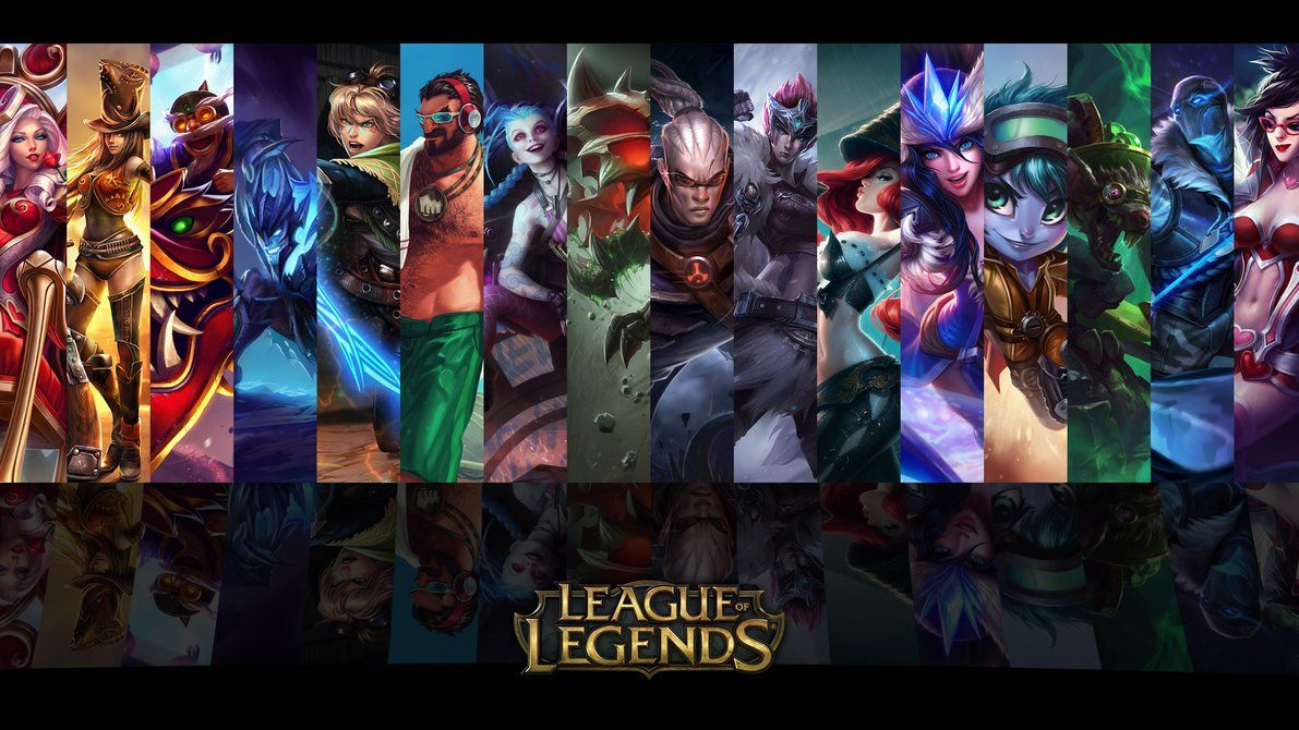 League Of Legends Adc Wallpaper Wallpapersafari Gamers