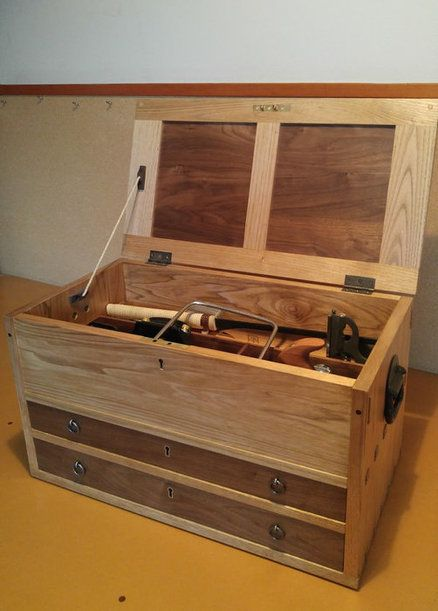 Essential Tool Chest Wood Tool Box Wood Tool Chest Wooden Tool