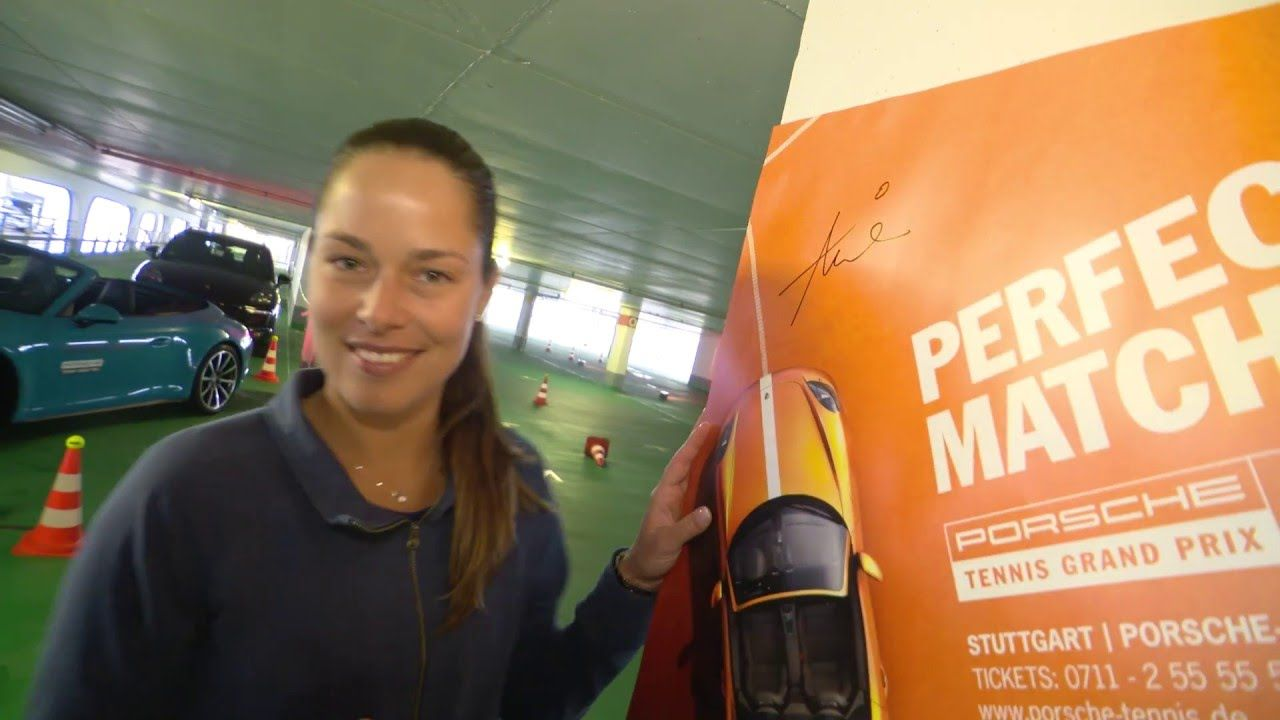 Parking Challenge with Ana Ivanovic - Porsche Tennis Grand Prix 2016