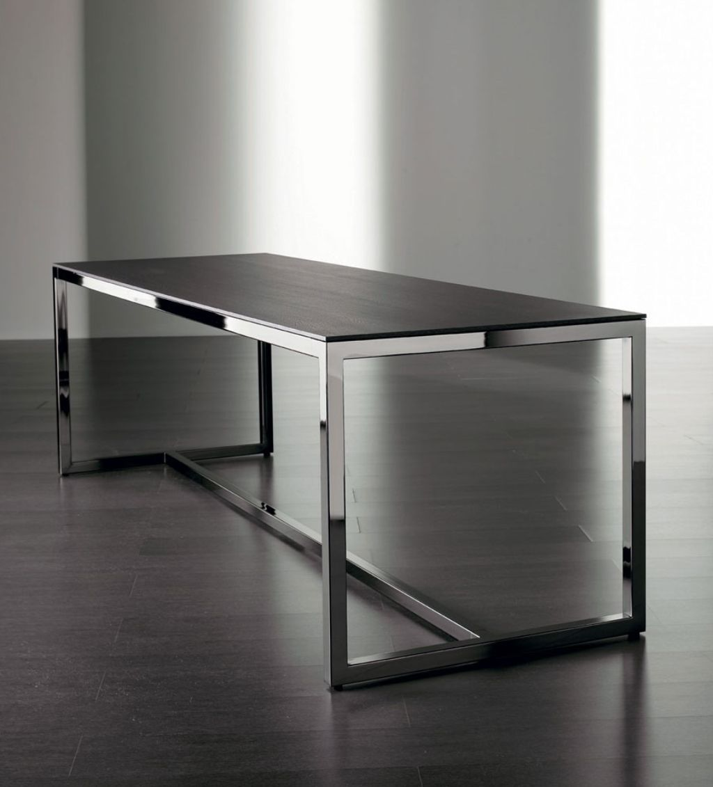 Minimalist Table Awesome Irons Dining Table Futuristic And Minimalist Design