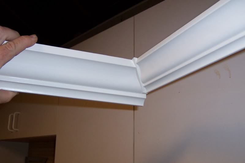 Joining 2 Different Crown Moldings Finish Carpentry Contractor Talk Crown Molding Kitchen Cabinet Molding Crown Molding