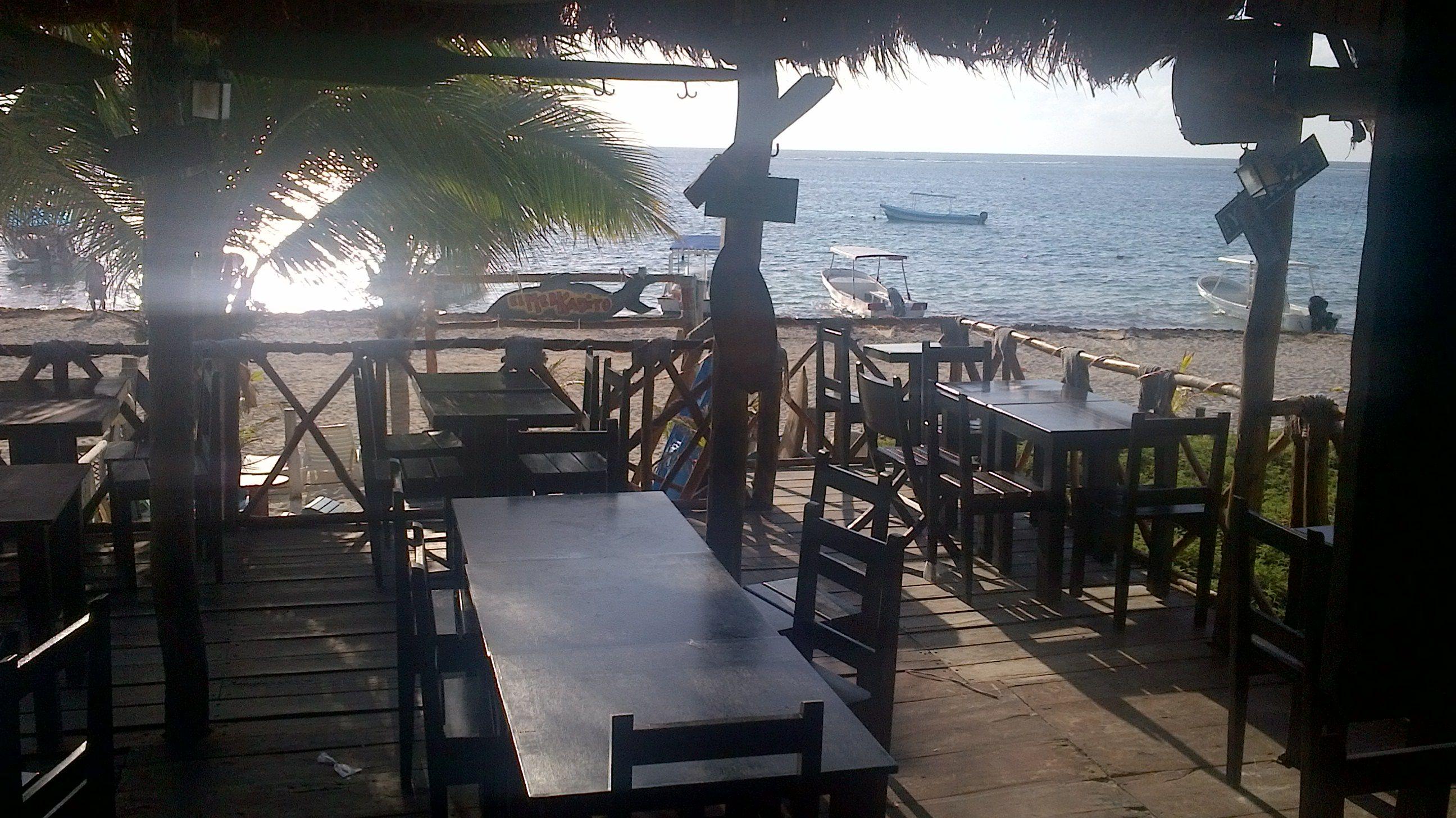 El Merkadito Puerto Morelos Beachside Seafood Fish Restaurant