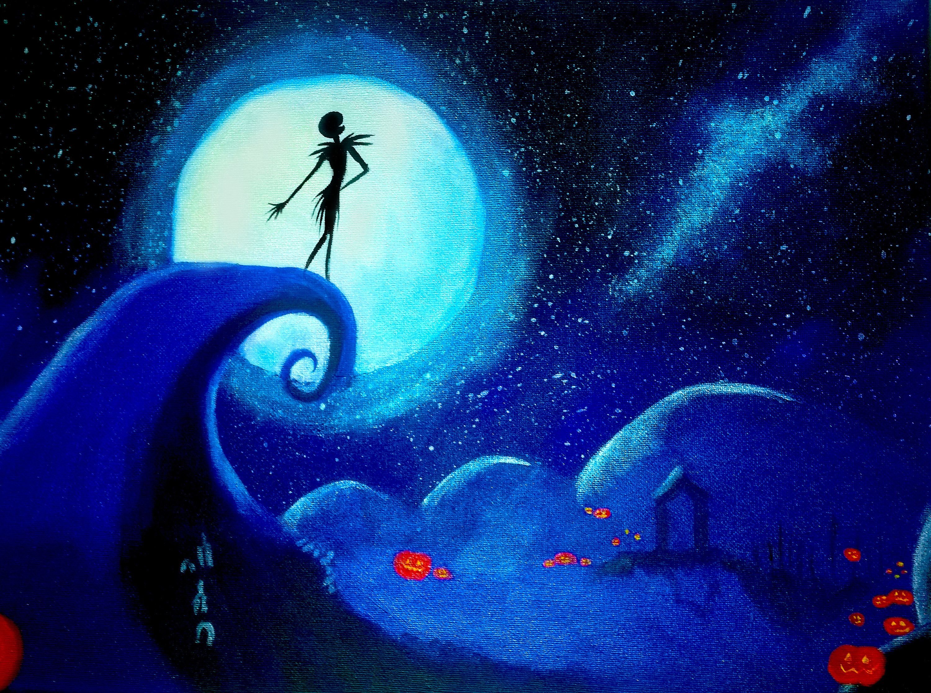 Jack nightmare before Christmas / Acrylic Painting / Original ...