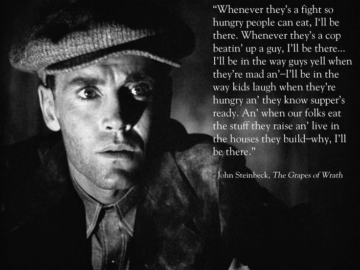 Grapes Of Wrath Quotes Quotes From The Grapes Of Wrath  Google Search  Steinbeck