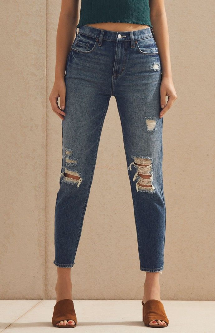 Pacsun Cody Blue Vintage Icon Mom Jeans 22 in 2019