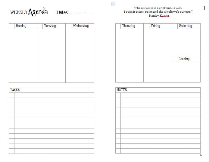 DIY Templates Junior | Planners, Planner template and Planner ideas