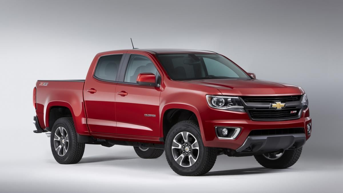 Gm Rolling Out Sel Ed Colorado Canyon Compact Trucks Chevy Truck