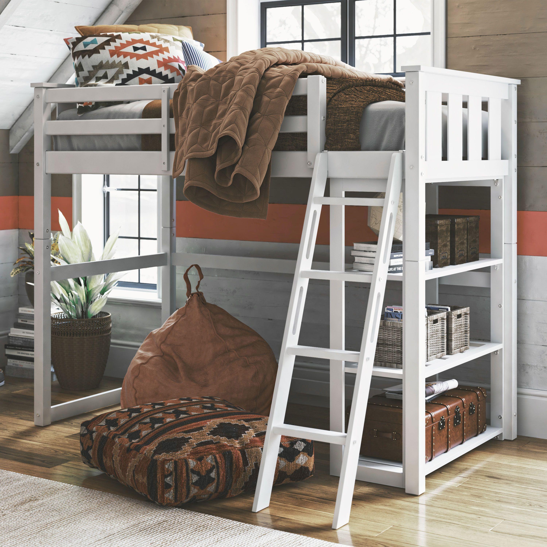 9354d1ae42ca9d64aa9983863d1b5c2f - Better Homes & Gardens Loft Bed With Spacious Storage Shelves