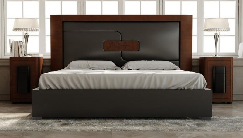 t te de lit et d co murale chambre en 55 id es originales. Black Bedroom Furniture Sets. Home Design Ideas