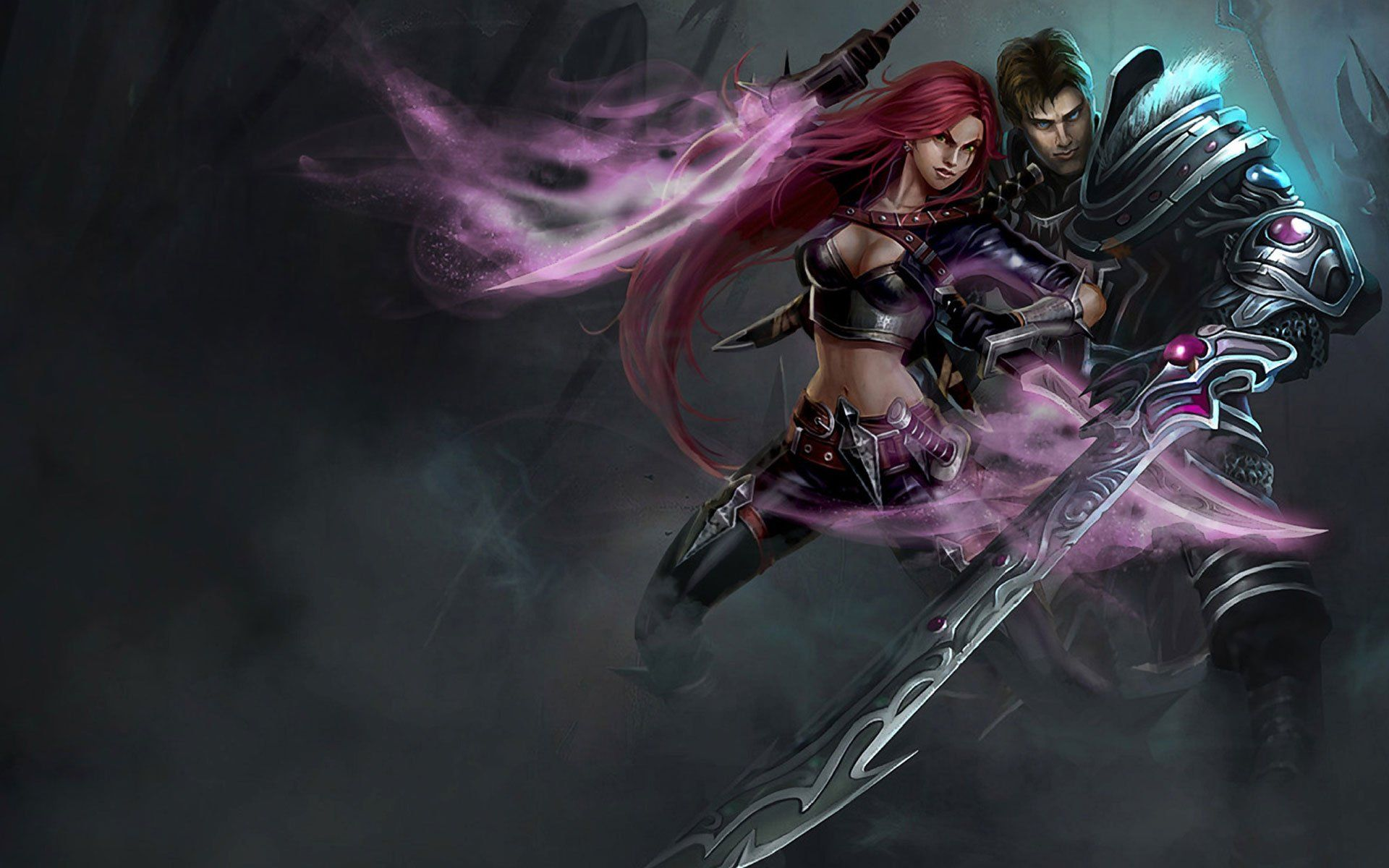Lol Wallpaper Katarina Garen Image 4k Full Hd Iphone Android