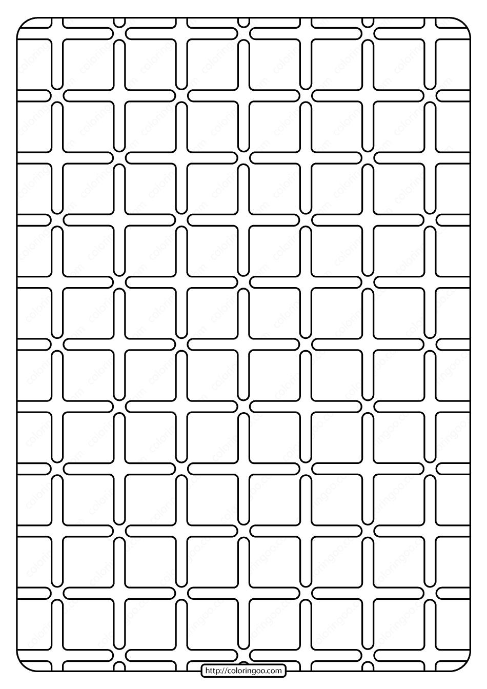 Free Printable Geometric Pattern Pdf Book 002 2020