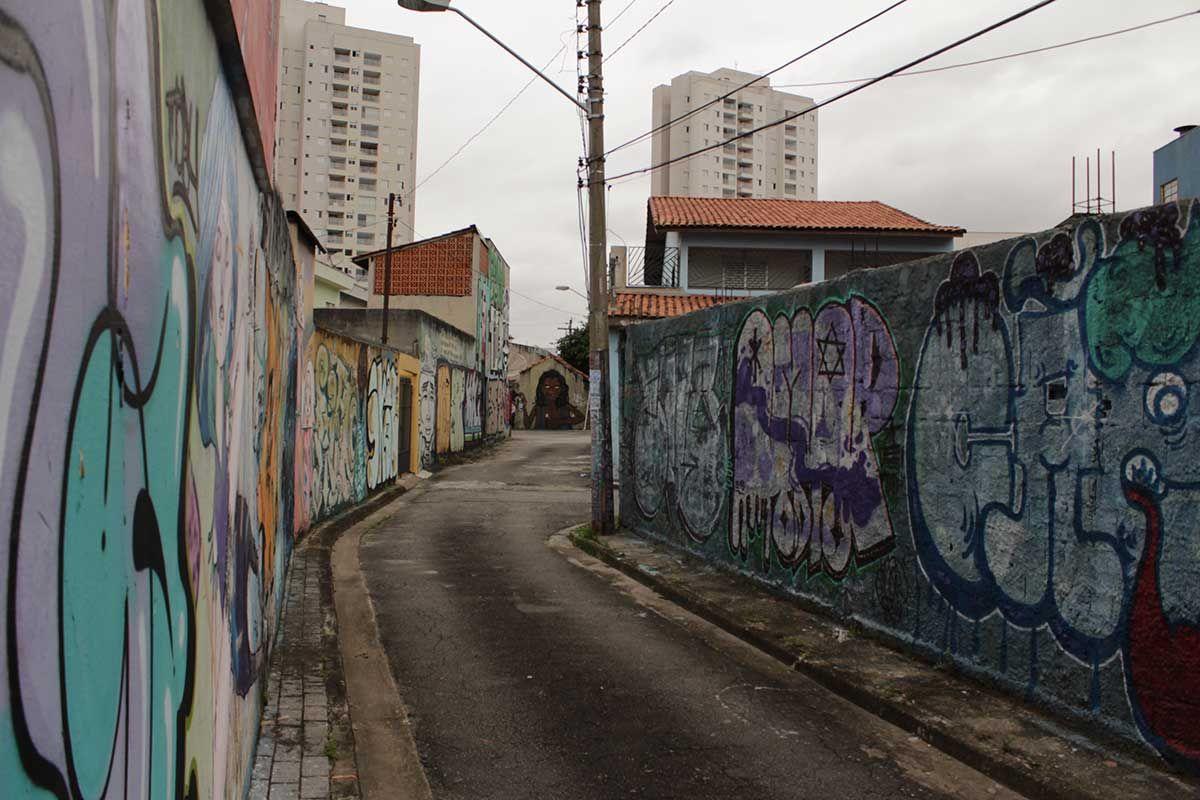 Travessa Antônio de Cillo Neto, Vila Carrão (2016) Foto: Rogério de Moura