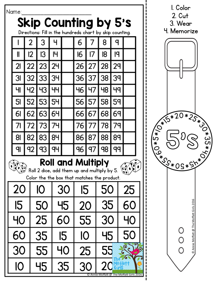 Mastering Multiplication couldn't be more FUN with these wearable ...