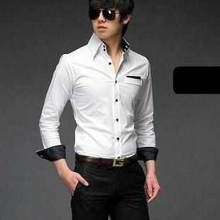 Tall Collar Dress Shirts