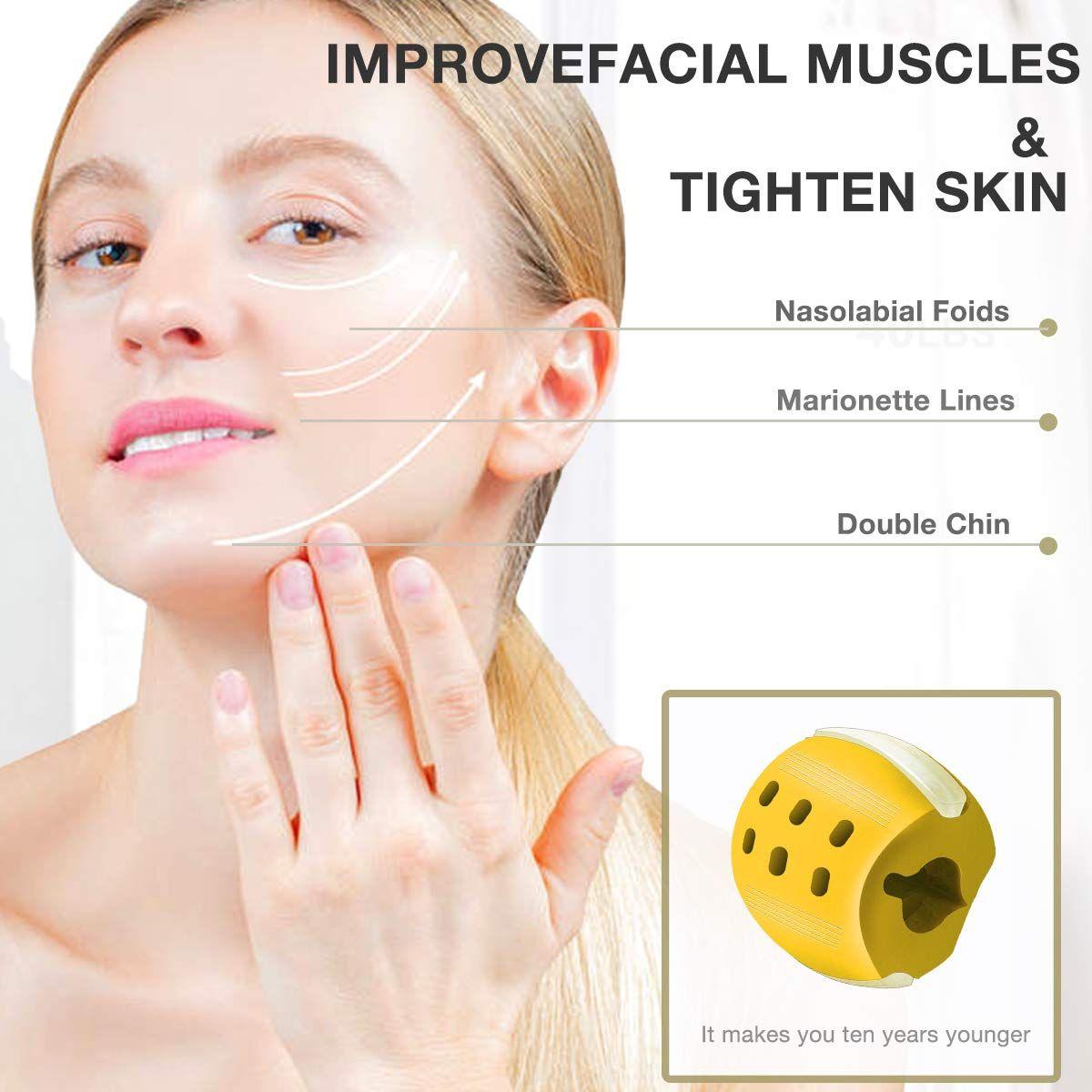 Jazbroz Jaw Exerciser Jawline Exercise Jaw Exercises Face Massage
