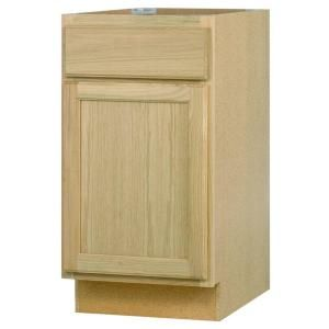 18x34 5x24 In Base Cabinet In Unfinished Oak B18ohd At The Home Depot Mobile Base Cabinets Unfinished Cabinets Unfinished Kitchen Cabinets