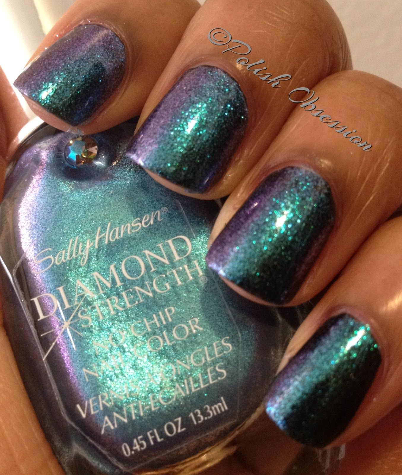 Polish Obsession: Sally Hansen - Blue Frosting | colors | Pinterest ...