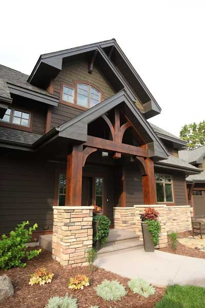 Craftsman millwork google search craftsman craftsman - Mountain home exterior paint colors ...