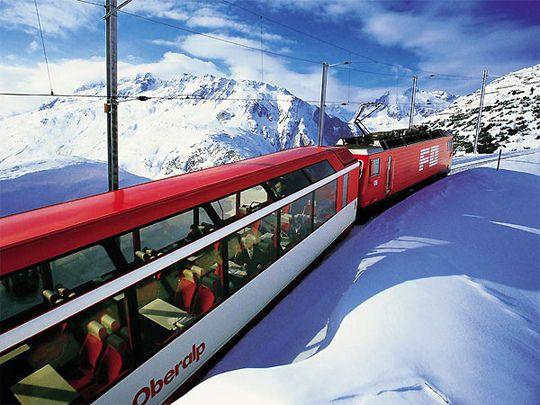 glacier express schweiz