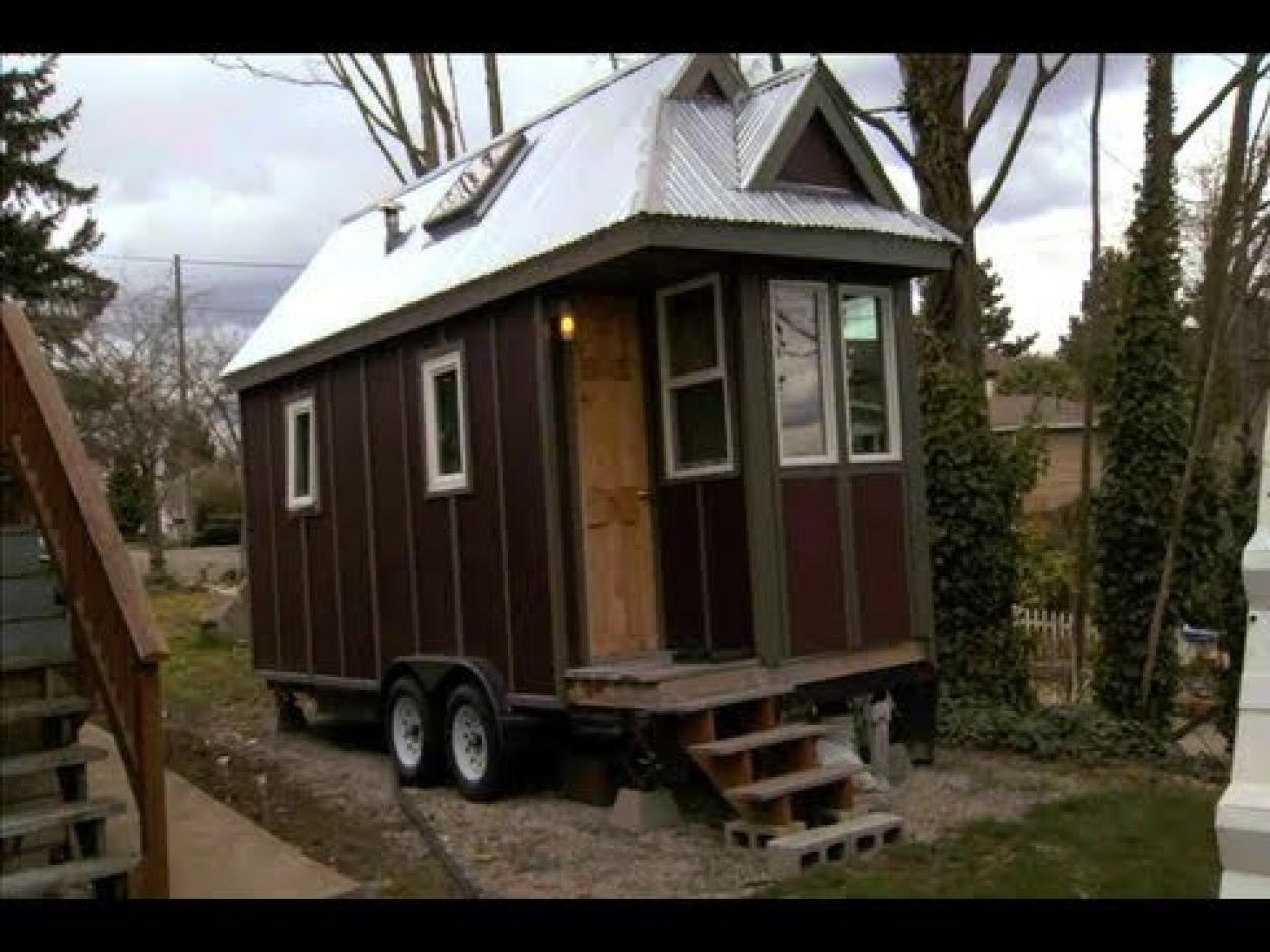 tiny houses on wheels home engineer s tiny house on wheels mini rh pinterest com Big Tiny House On Wheels Big Tiny House On Wheels