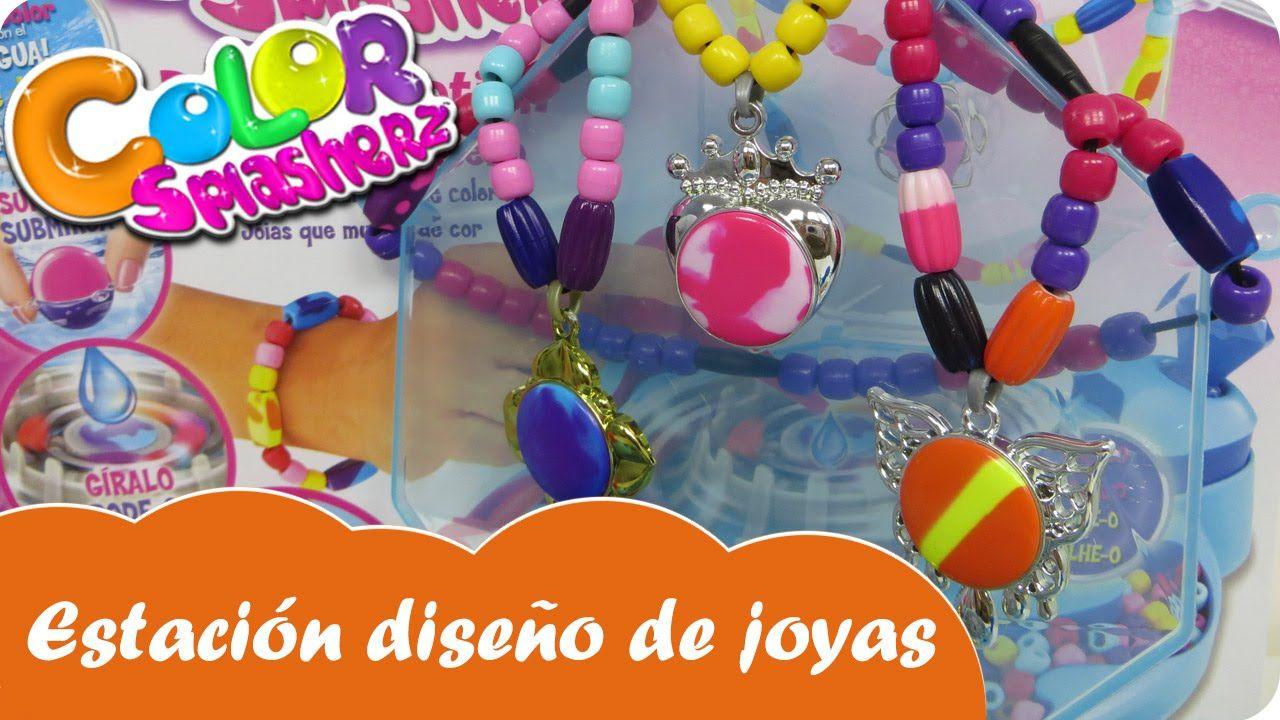Estación de diseño de joyas Color Splasherz Nabumbu - Mundo juguetes vid...