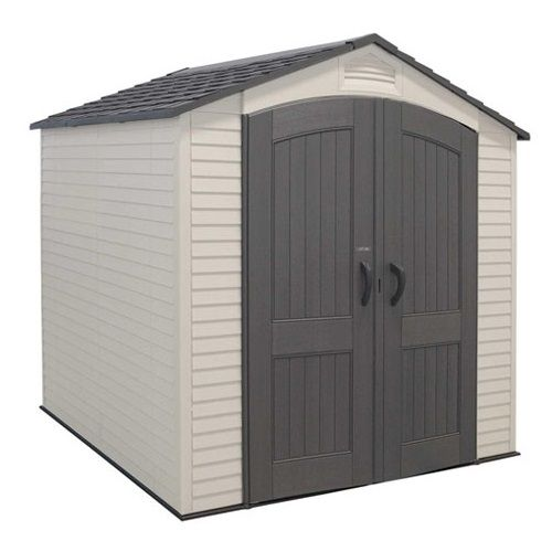 Lifetime Storage Sheds 60048 7x7 Plastic Building Shed Storage Outdoor Storage Sheds Outdoor Sheds