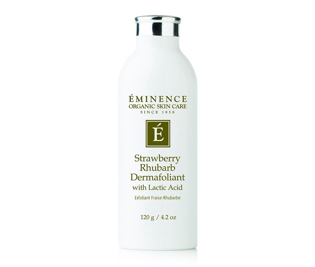 Eminence Organics Strawberry Rhubarb Dermafoliant Eminence Organic Skin Care Emstore Com Strawberry Rhubarb Eminence Organic Skin Care Organic Skin Care