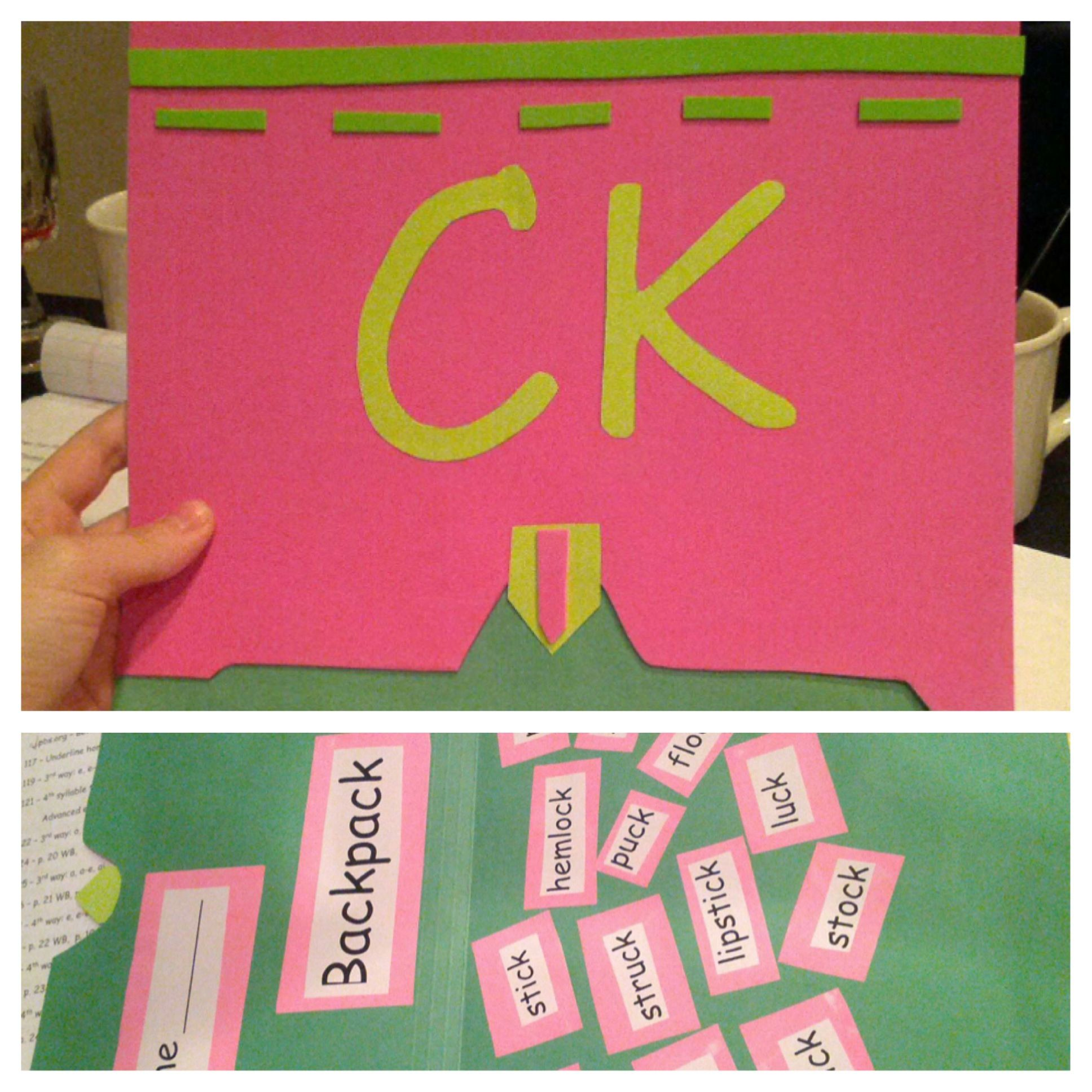 Ck Rule With A Backpack