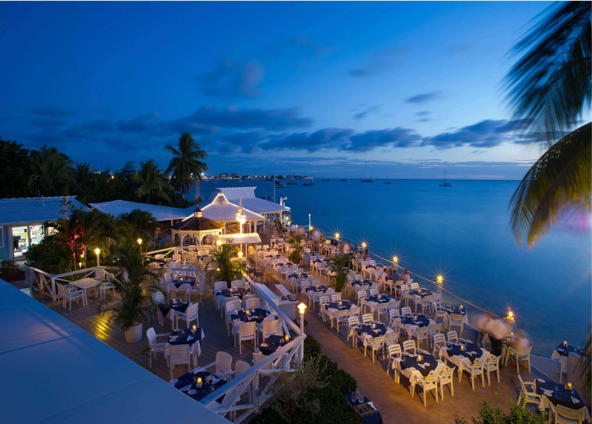 Premier Waterfront Dining Restaurant At Cayman Islands The