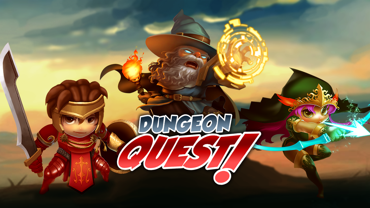 Dungeon Quest Dungeon, Quest Dungeon, Game concept