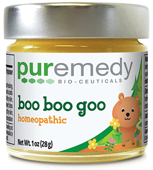 Puremedy's Baby Skin (Boo Boo Goo) Salve is an effective and gentle blend of all natural ingredients that is a must have for all homes with a baby. This multi-purpose salve is formulated specifically for bumps, scrapes, and bruises, and to relieve dryness, soothe irritations, and soften baby's skin. This can be used for all skin conditions.   Gentle, but effective. Increases blood circulation and oxygen to skin and tissue, speeding up the healing process.  #organicmom #organicbaby