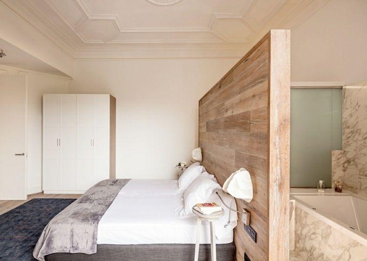 chambre coucher moderne paroi bois salle bains attenantejpeg 750 534 pixels
