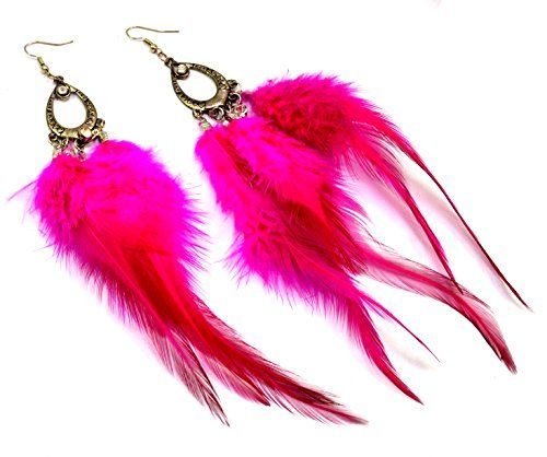 A Pair of Trendy Fashion Jewelry Boho Danglers Antique Feather Earrings Krishna Mart India http://www.amazon.com/dp/B00UNC2MSI/ref=cm_sw_r_pi_dp_YMxEvb0A18MM4