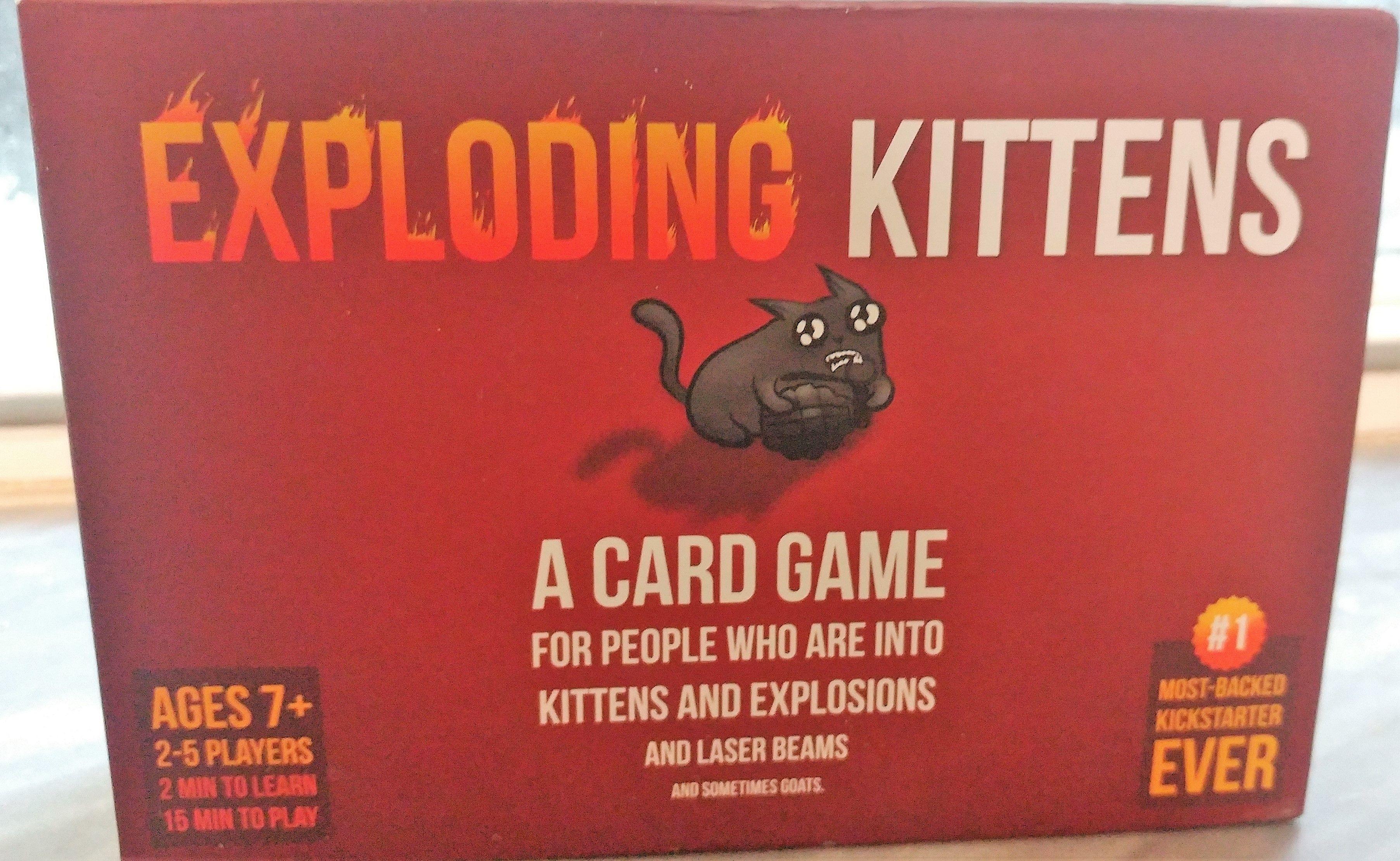 Game review exploding kittens exploding kittens