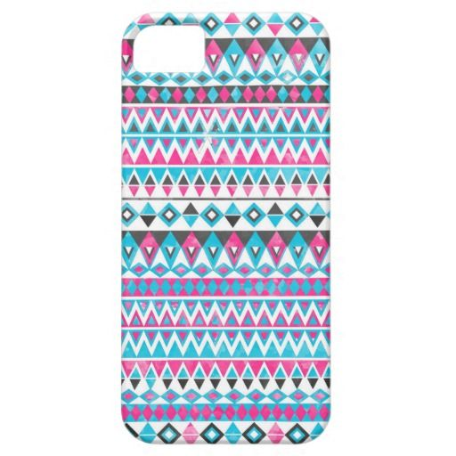Awesome Cool trendy Aztec tribal watercolors iPhone 5 Cover
