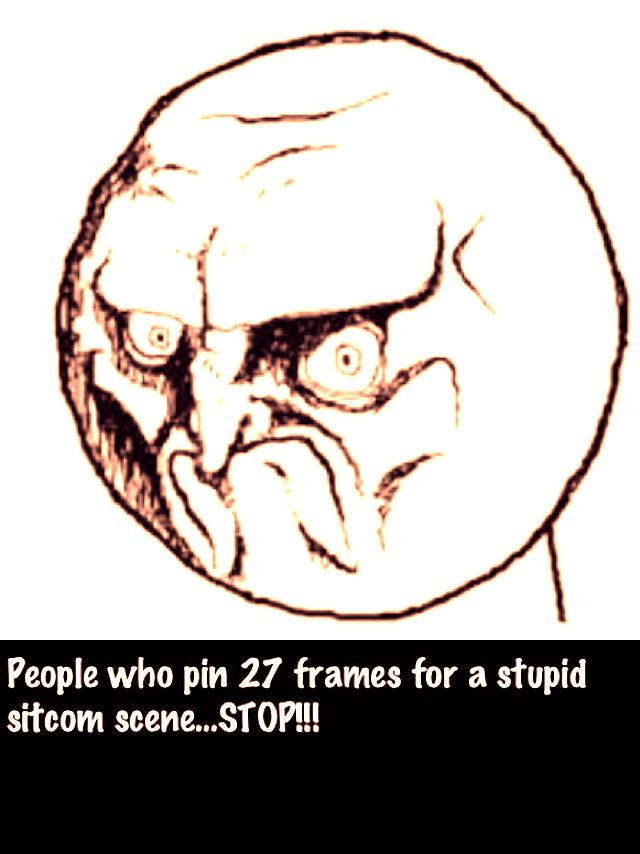 The pins that are longer than one frame....