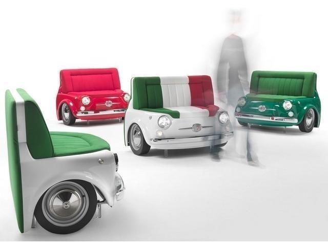 Möbel Radolfzell fiat 500 n design panorama sofa als kleinwagen in radolfzell fiat