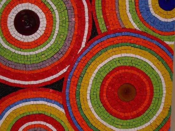 gorgeous gorgeous smalti circles